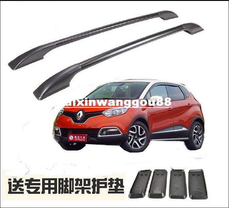 Aluminum Alloy Car Roof Rack/Luggage Rack/Roof Racks Modification  Accessories For Fit For RENAULT Captur 2015