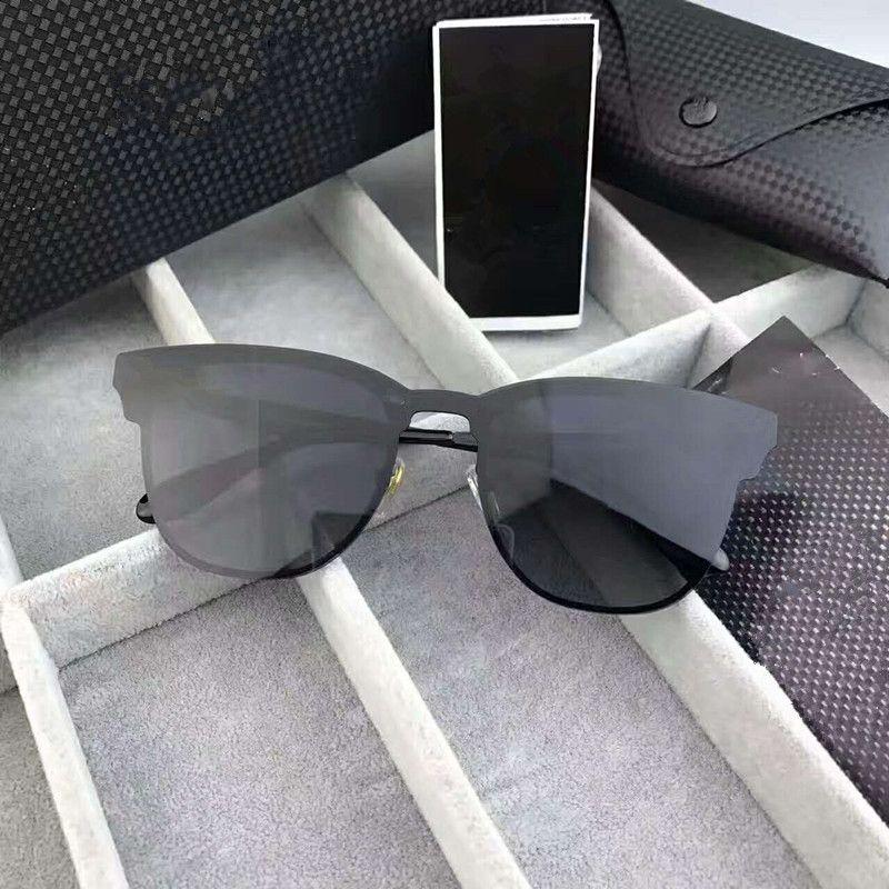2017 nova marca polarizada aviação óculos de sol para homens mulheres masculino óculos de condução reflexiva revestimento eyewear night vision espelho de condução