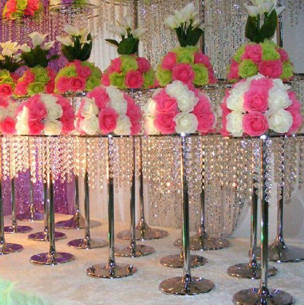 Acrylic Crystal Wedding Centerpieces Ferris Wheel Road Led Candle Holders Decoration 60cm30cm Llfa Wall Sconce Sconces