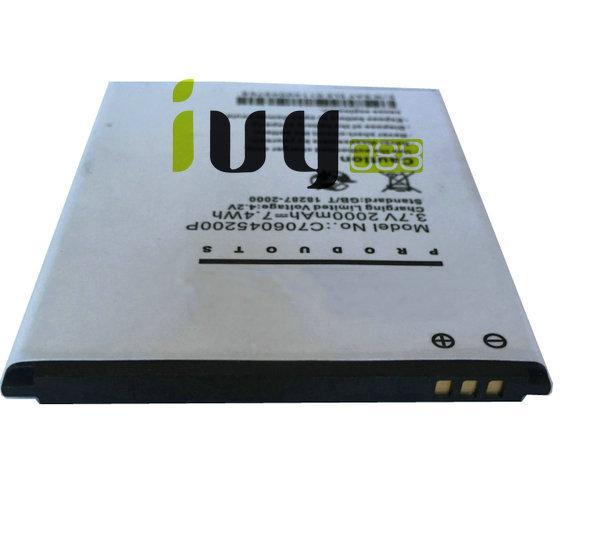 20 teile / los 2000 mAh C706045200P Batterie für Blu Studio C 5 + 5 D890U D890L S0050UU D890 Batterien