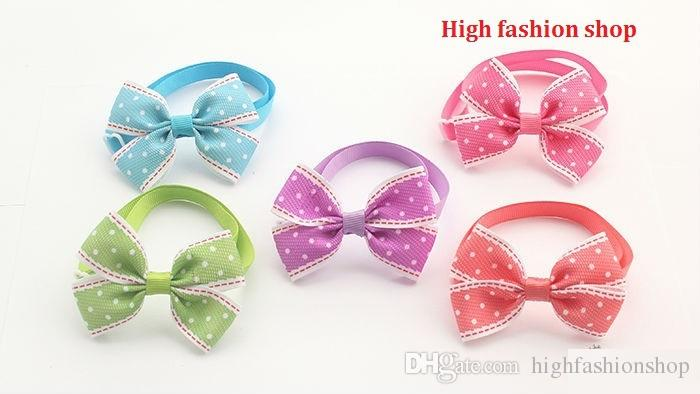 2016 Hot Sale butterfly pet cat puppy dog bow tie Grooming Bowknot Pet Accessories PE17