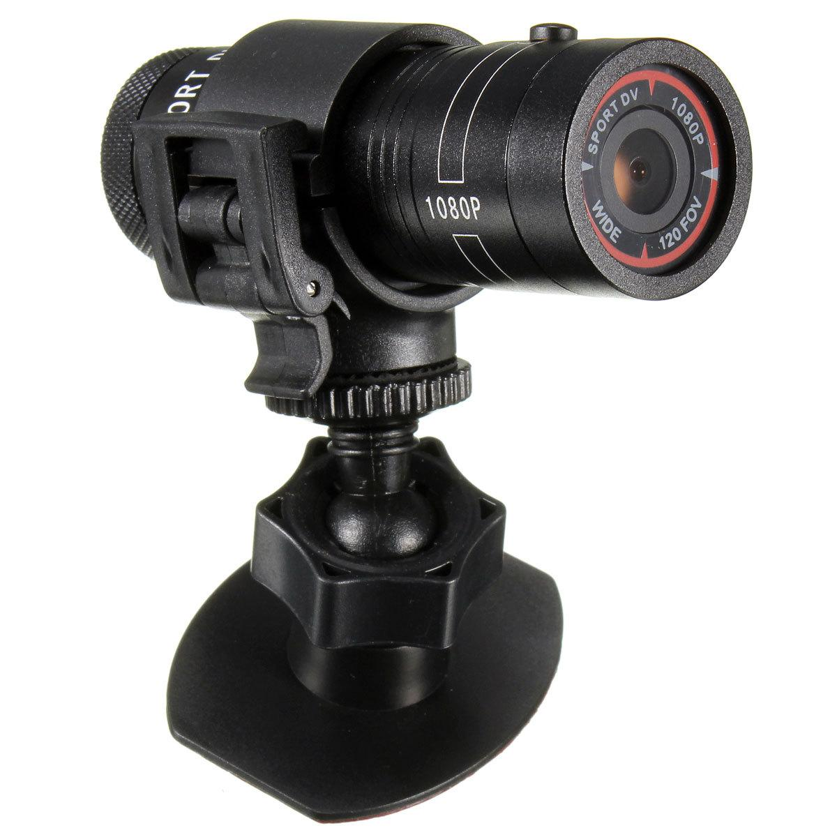 Full Hd 1080p Round Sports Camera For Bicycle Motor Cycle