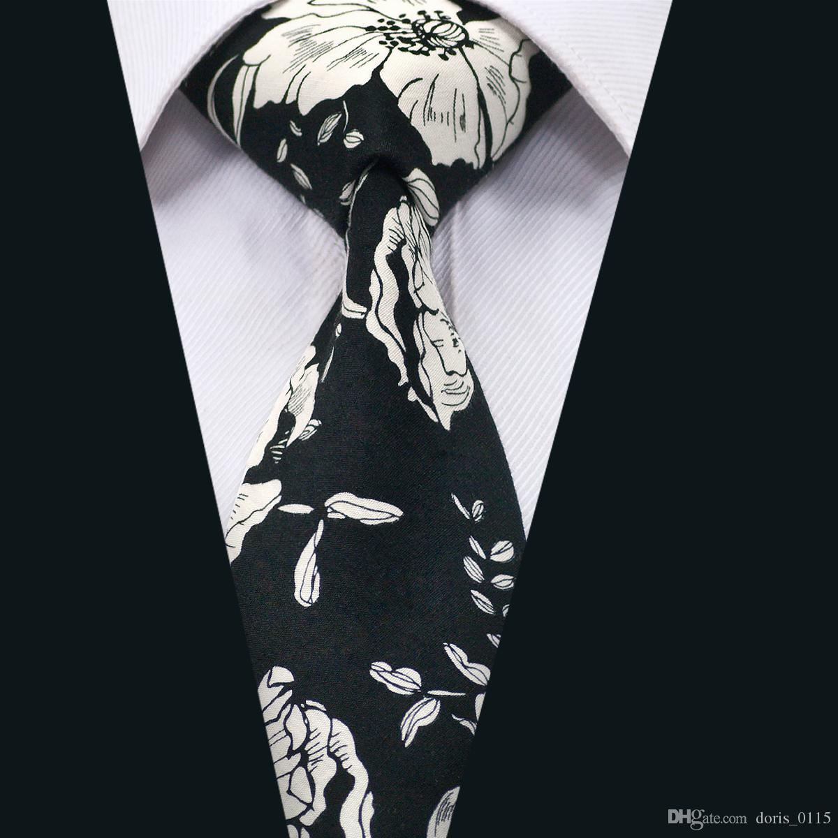 d896ebcddc38 Ties Classic Silk Men Ties Floral Cutton Mens Necktie With High Quality For  Business Wedding Party Gift D 1317 Gold Tie Gold Bow Tie From Doris_0115,  ...