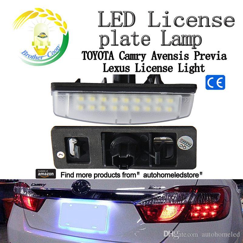Großhandel X Led Kennzeichen Lampe Für Toyota Lexus Is300 Camry ...