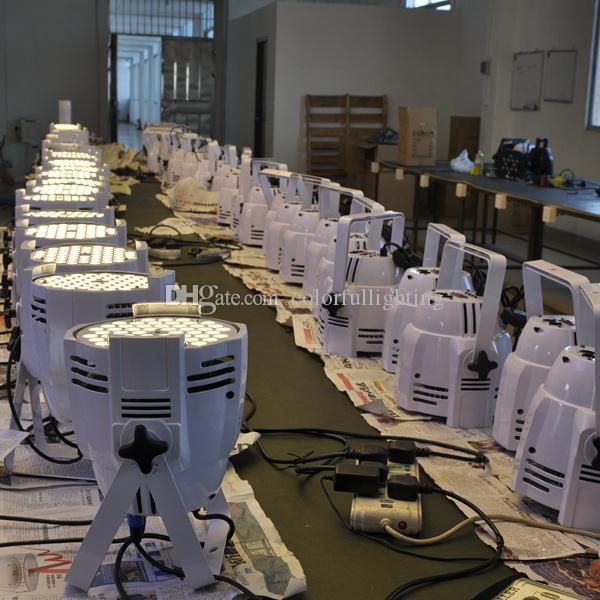 무료 배송 고품질 54X3W 조용한 따뜻한 흰색 파 LED 조명 WW 파 Par 무대 조명
