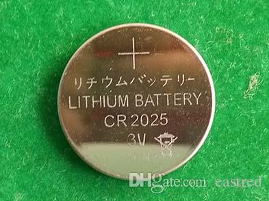 3.0V Оптовая CR2025 батареи 100% Fresh CR 2025 FedEx UPS Кнопка литиевые батарейки монетные клетки освобождают перевозку груза