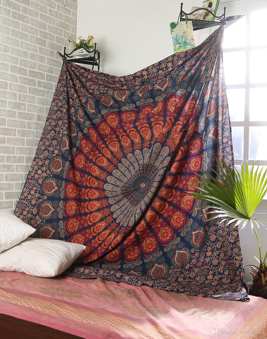 Mandala Tapestry Indian Wall Hanging Boho Home Decor Tapestry