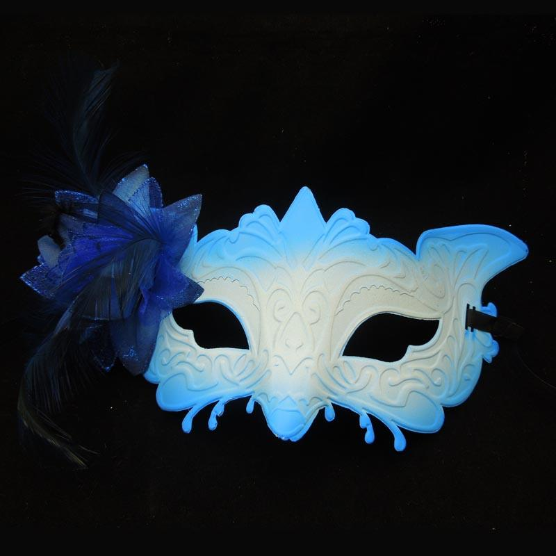 Sexy Monster Mask Lateral flower mask Half Face Venetian Masquerade Party Mask Carnival Halloween Mask Mardi Gras masks