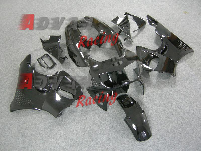 Kostenloser Versand HONDA - CBR 900RR 893 96-97 Motorrad Verkleidung Alle schwarzen ABS Verkleidung Kit Kunststoff Kit HONDA CBR900RR CBR893RR 1996-1997 1312.