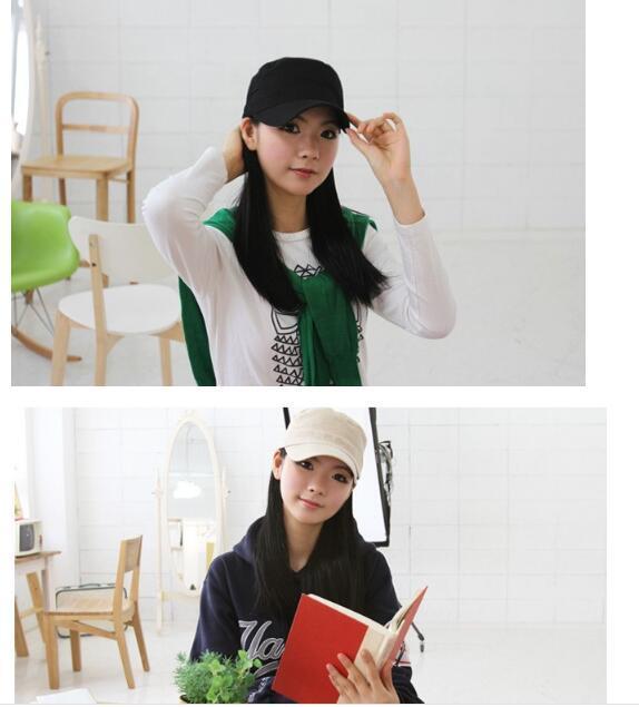 Ayarlanabilinir için klasik Kadınlar Açık Hava Düz Erkekler Şapka Vintage Ordu Güneş Kap Harbiyeli Askeri Devriye Ayarlanabilir Açık Havada Unisex Ordu Şapkalar Yaz
