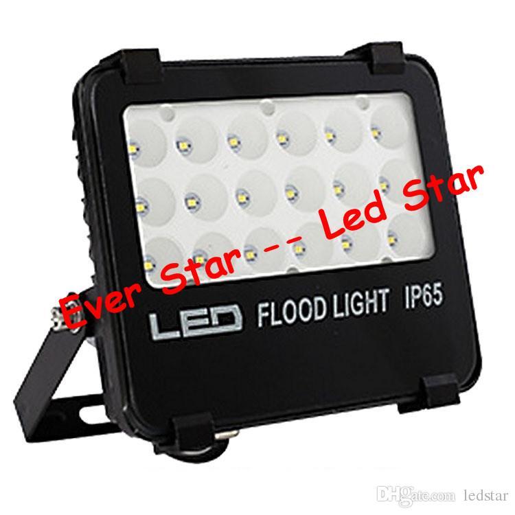 2018 Yeni Led Projektörler 10 W 20 W 30 W 50 W 100 W 150 W Açık Sel Işıkları Peyzaj aydınlatma AC 110-240 V CE UL FCC