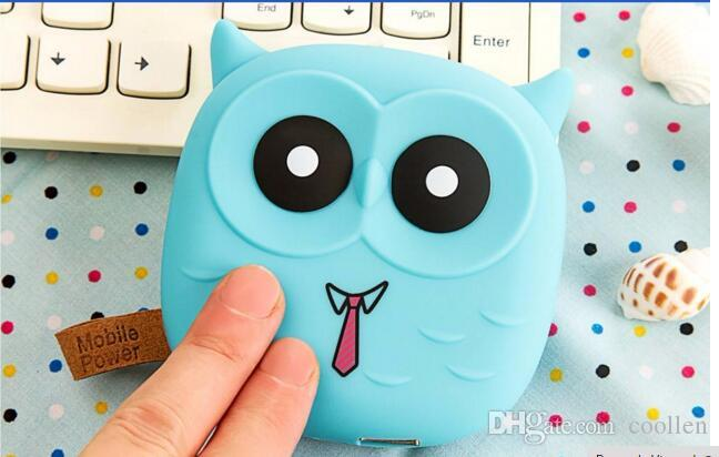 Cute Cartoon Owl Power Bank Portable Charger Battery For Mobile Cell Phone Iphone Xiaomi Small Battery Charger Powerbank
