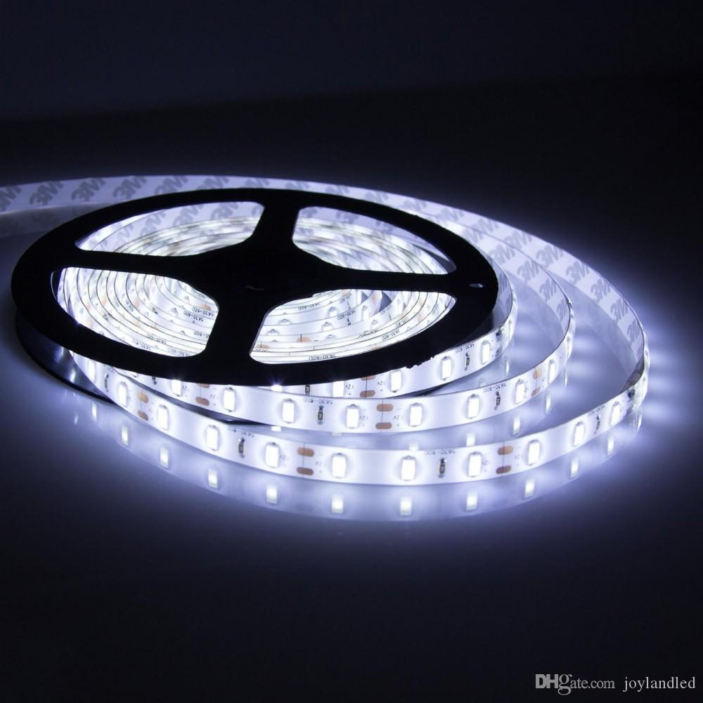 Hoge BIRGHT 5M 5630 Waterdichte LED Strips Licht Warm Pure Wit Rood Groen Blauw Flexibel 5 M Roll 300 LEDs 12V Outdoor Lint