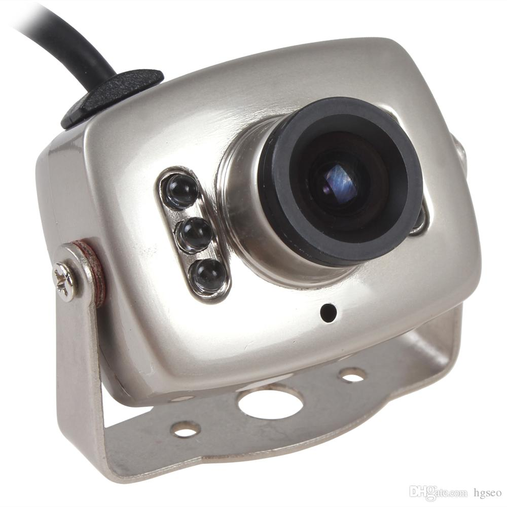 1/3 Inch CMOS Mini Wired CCTV Security Color Night Vision Infrared Video Camcorder IR Camera CCT_533