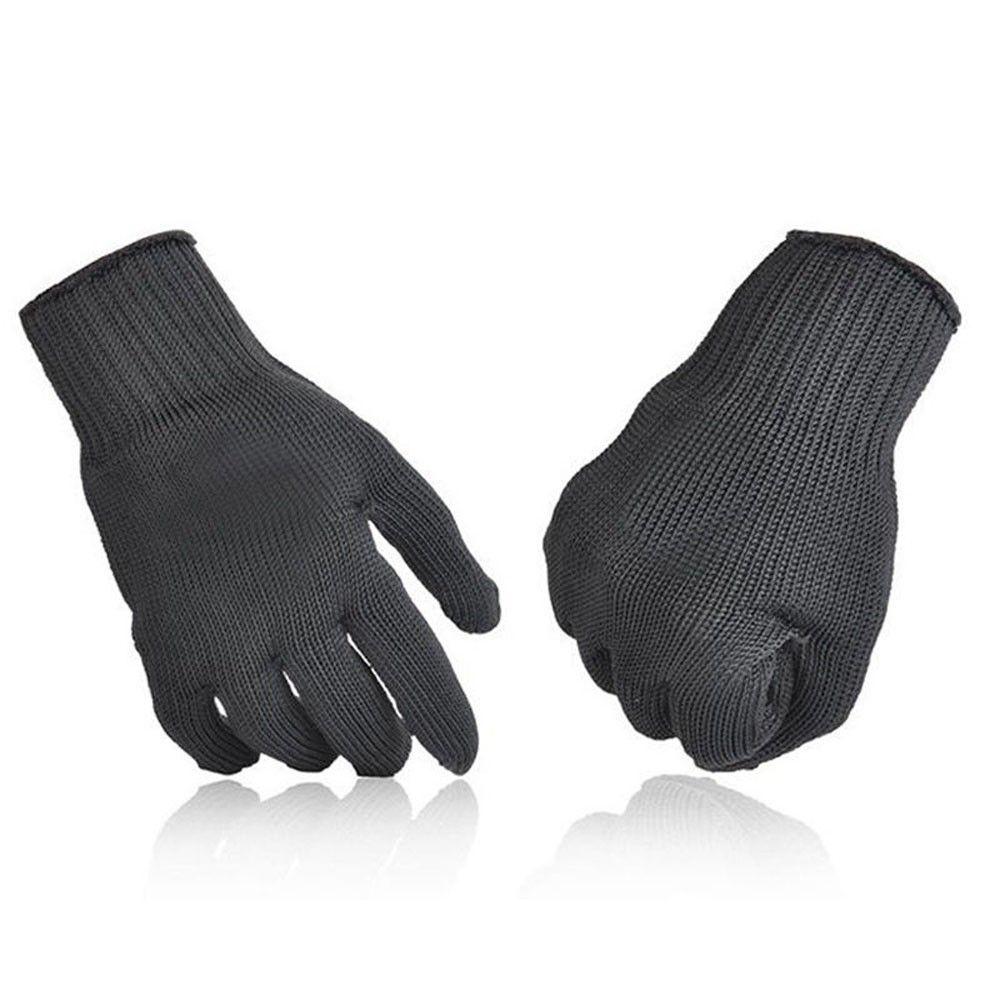 1 paio di guanti antigraffio Guanti di protezione in filo di acciaio inossidabile