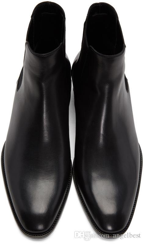 venta caliente diseñador de la marca de estilo de inglaterra tobillo hombres botas de cuero suave botas de otoño hombres oxfords zapatos altos superiores botas de martin más tamaño