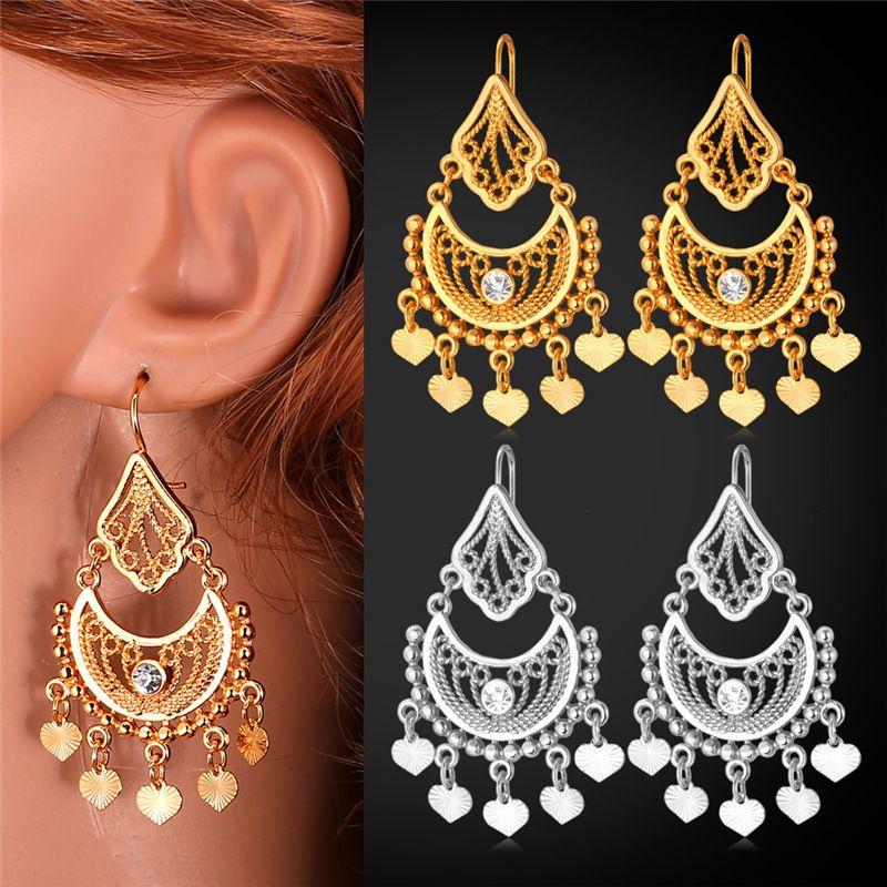 New fashion indian style dangle earrings jewelry women gift item 55 aloadofball Choice Image