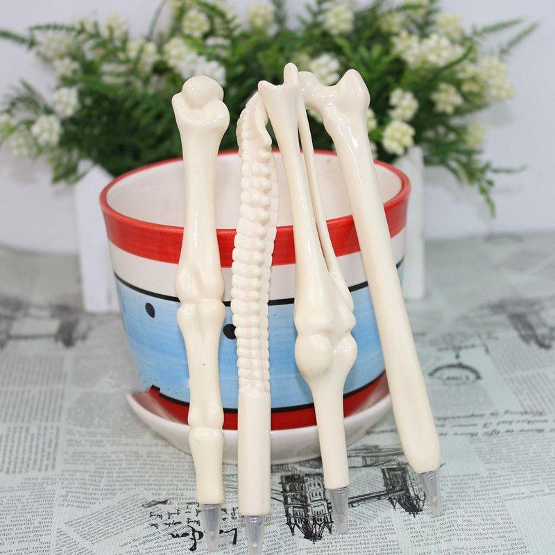 Creative Ballpoint Pens Bone Metal Ballpoint Pens Gift For Student Writting Supplies Bullet Type 0.7mm DHL