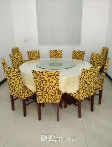 Hot Selling Universal Spandex Dining Home Chair Cover In For Home Wedding Banquet