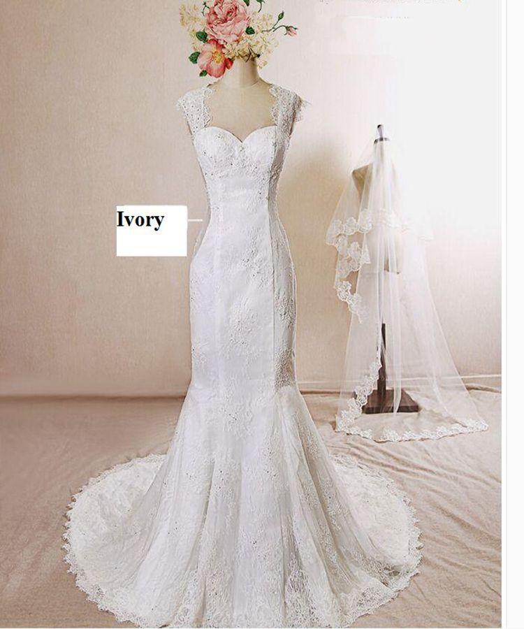 Simple Vintage Wedding Dresses: Vintage Lace 2016 Chapel Simple Wedding Dresses Sleeveless