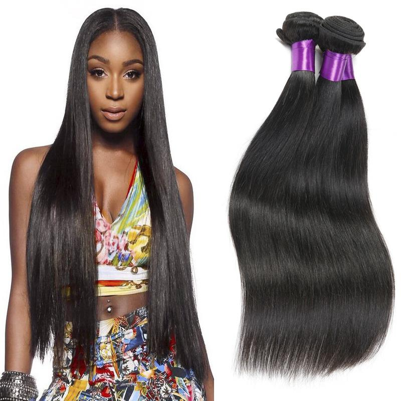 Peruvian Virgin Hair Straight 3 Bundle Deals Peruvian Straight