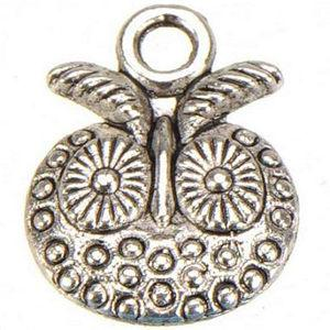 DIY Charms With Lobster Clasps Dangles Necklaces Crafts Key Chains Pendants Owl Vintage Silver Metal Suppliers For Jewelry Findings