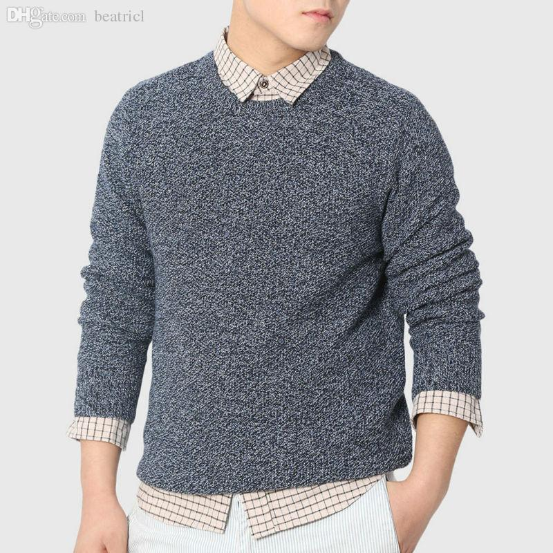 2018 Wholesale Men Urban Cable Knit Sweaters Designer Knitted ...