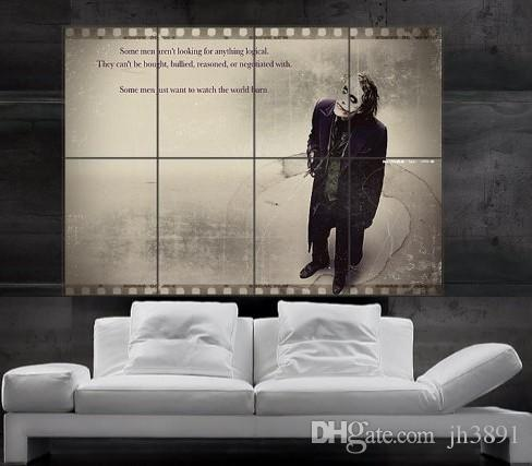 The Joker From Batman The Dark Knight Rises Poster Print Wall Art 8