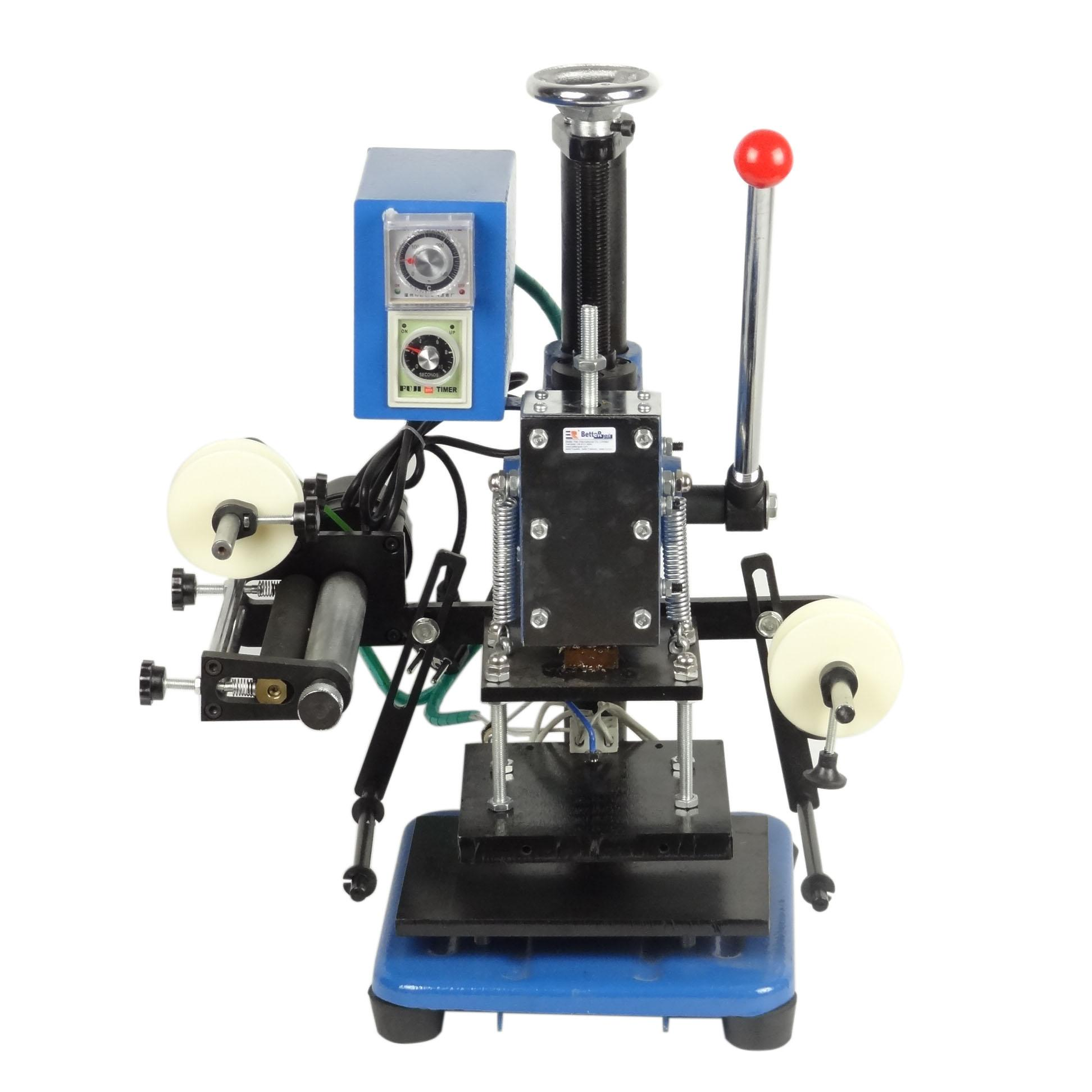 Discount Lz 170 C Manual Hot Stamping Machine/Business Card/Leather ...