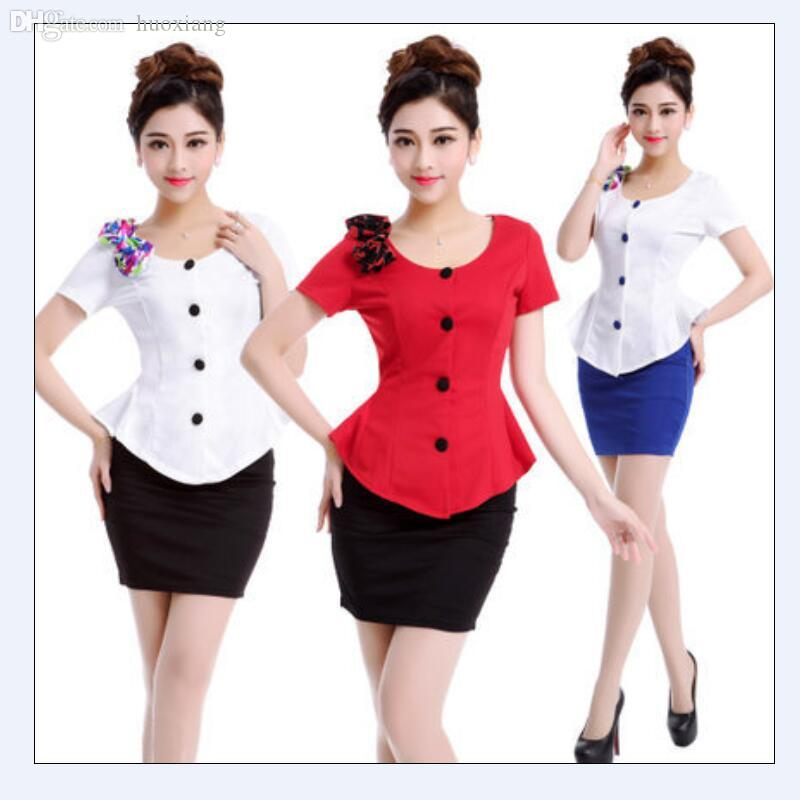 Online Cheap Wholesale 2016 Summer Womens Business Suits Formal ...