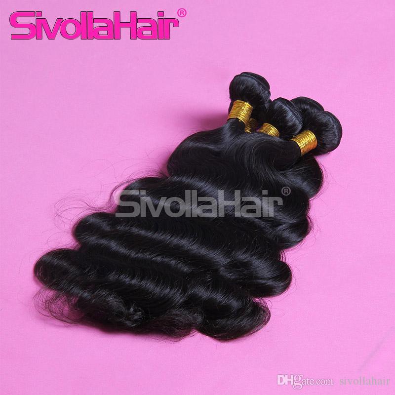 6a Grade Brazilian Natural Human Hair Weaves 100 Human Hair
