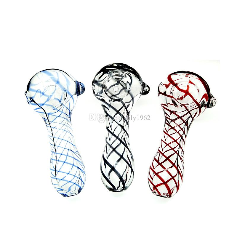 Good quality cheap price glass pipes hand pipe for tobacco smoking pipe with 4 inch length