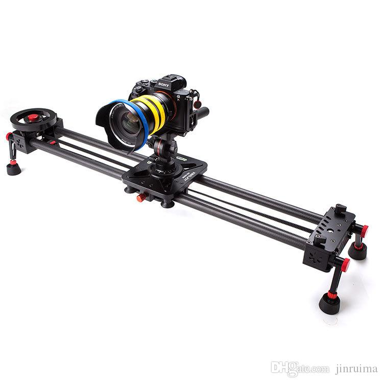 Agile carbon fiber slide rail, SLR slide photography, 5D35D2 camera slide rail, 900mm customization with flywheel