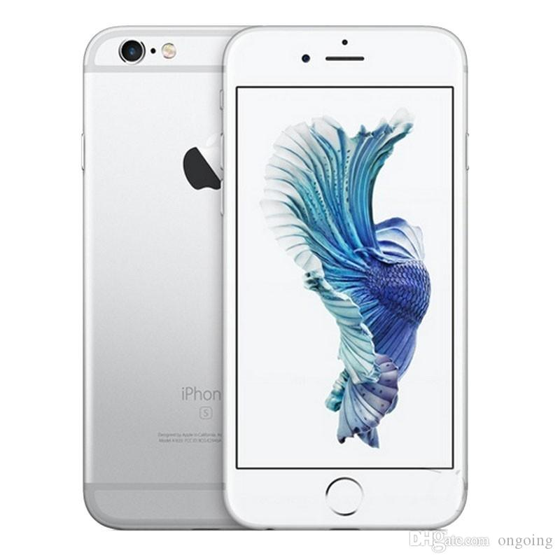 IPhone 6S Plus Refurbished Phones Original Apple IPhone 6S Plus Cell Phones 16GB  IOS Rose Gold 5.5 I6s Smartphone DHL Free Online Mobile Phone Deals ... f12c1ae12e