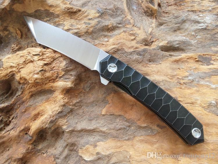 Più nuovo Kill 2 coltello in lega di titanio D2 60HRC maniglia in lega di titanio coltello pieghevole e coltello da caccia spedizione gratuita 1 pz