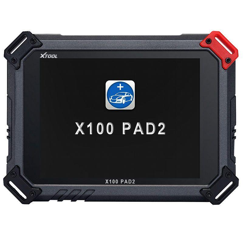 XTOOL Original X100 Pad2 pro 4 sistemi con 45 supporto IMMO EPB EPS OBD2 contachilometri OilRst TPMS TPS X100 PAd 2 Meglio di X300 pro3
