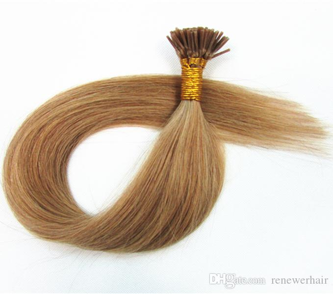50s 100s 150s 200s Blonde Keratin Capsule Cold Fusion Hair I Tip