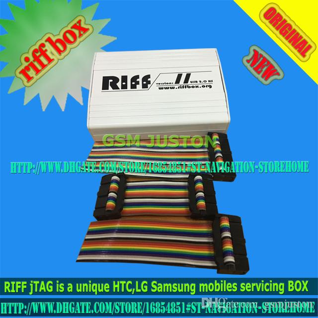 2016 Riff Box - Best Jtag For HTC,SAMSUNG,Huawei Unlock&Flash&Repair With flat cables