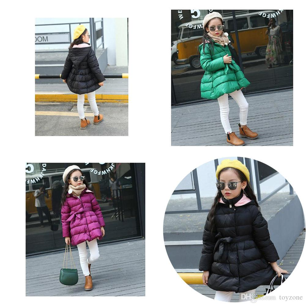 bb5531601 Princess Skirt Down Jacket Winter Jackets For Girls Kids Fashion ...