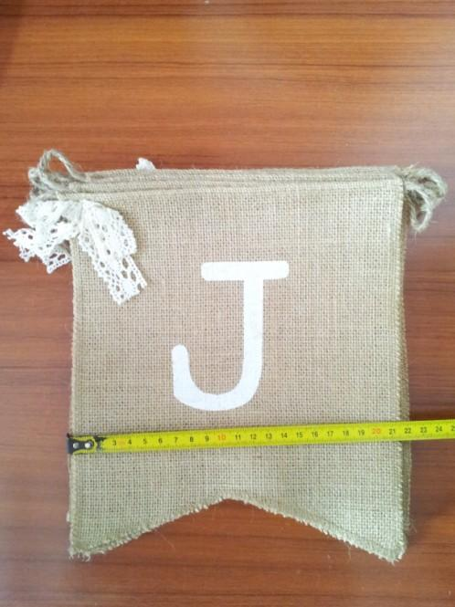 2016 Just Married banner wedding photo booth props shabby vintage rustic hessian burlap wedding bunting sign garland
