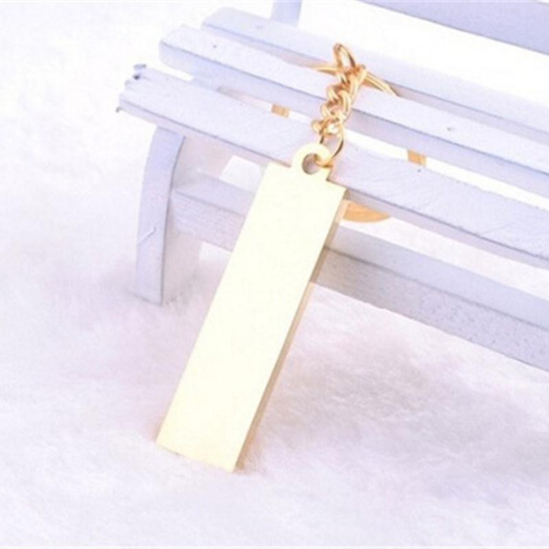 Simulation Gold Bars Gold Ziegel Keychain Schlüsselanhänger Schlüssel Ringe Metall Gold Bullion Bag Hängt Modeschmuck Christams Geschenk 170530