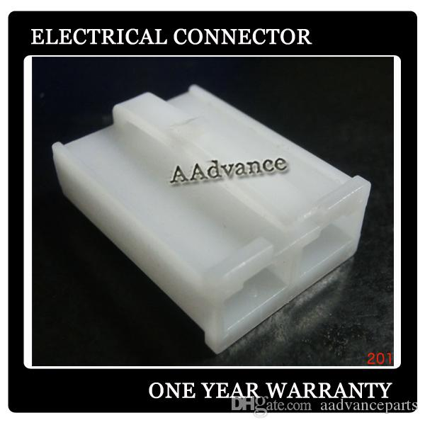 Sealed 2 pin white male female electrical automotive connectors types
