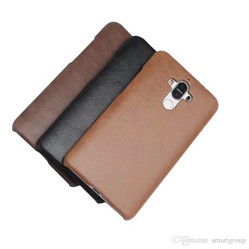 For Huawei Mate 9 Case Genuine Leather Back Impact Holster Protective Cover Case For Huawei Ascend Mate 9