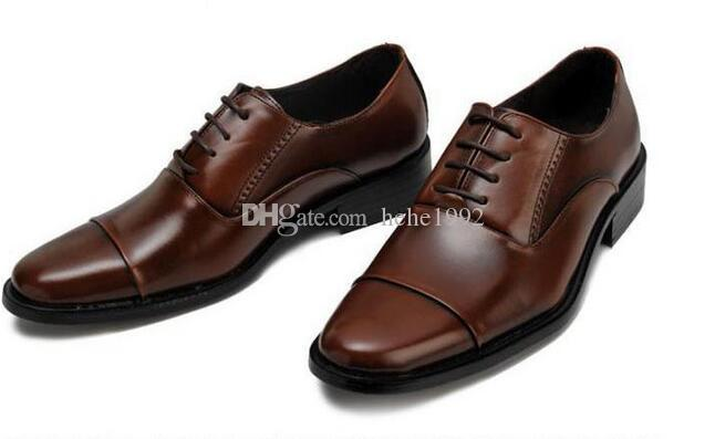 grandi scarpe da sera di business dimensioni degli uomini di pizzo scarpe popolare tre intestazioni XL 38-47 trasporto libero ha sottolineato