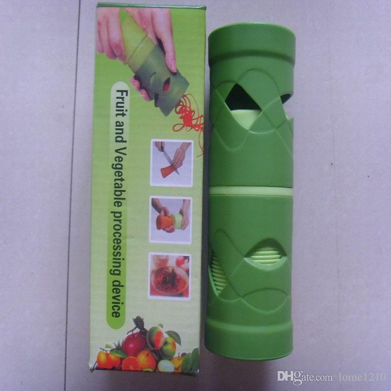 Coupe-légumes Trancheur De Fruits Spiralizer Facile Garnir Végétarien Twister Dispositif De Traitement Gadgets De Cuisine Outils de Cuisson