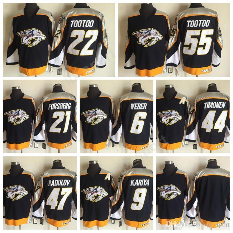 899d924d073 ... Authentic White Away NHL Jersey Nashville Predators 22 Jordin Tootoo  Jersey 6 Shea Weber 47 Alexander Radulov 21 Filip Forsberg 9 ...