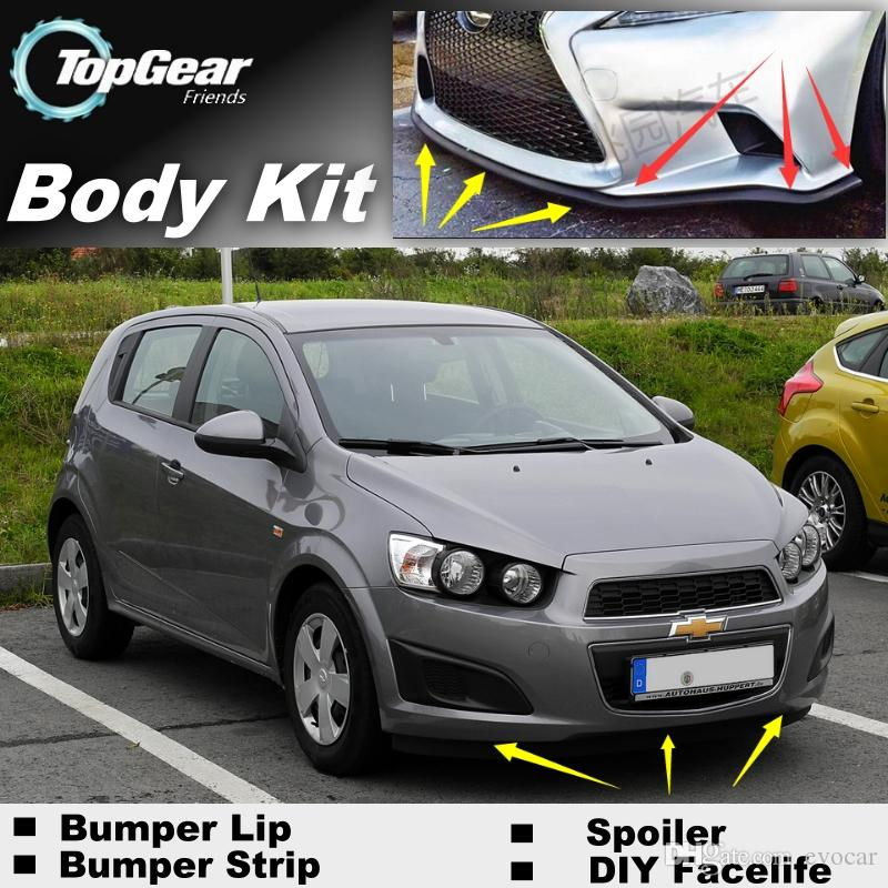 2017 For Chevrolet Aveo Sonic The Car Around The Front Bumper