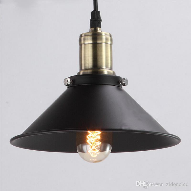 Led Single Hanging Light Vintage Pendant Lights Indoor Lighting ...