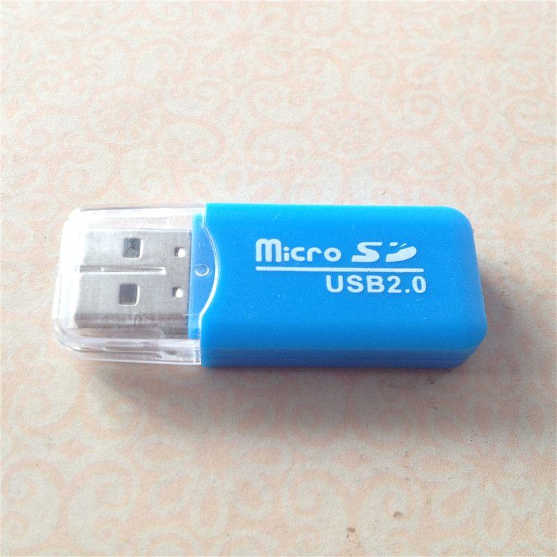 USB 인터페이스 심 TF 플래시 메모리 카드 슈퍼 고속 저렴한 전화 리더로 PC 컴퓨터를위한 마이크로 SD 카드 리더 마이크로 어댑터