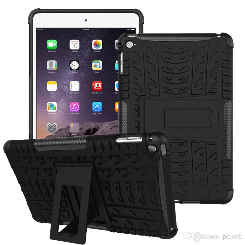 For Ipad Mini 2/3/4 With Kickstand Hybrid Defender case Shell Heavy Duty cover